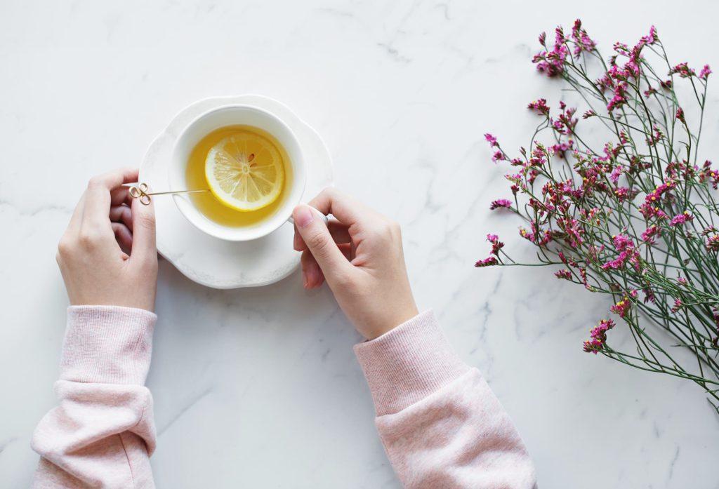 Bloating remedy is herbal tea