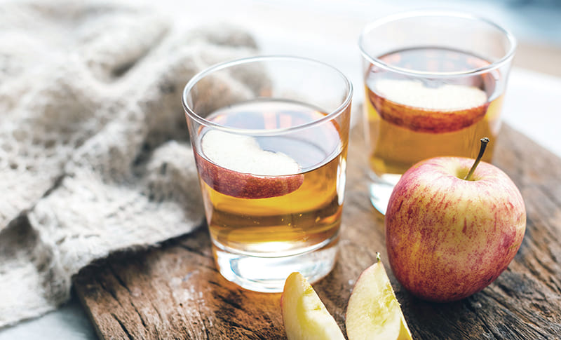 Apple cider vinegar is a food for weight loss