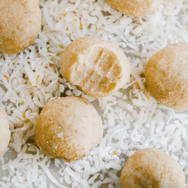 pcos desserts - lemon balls
