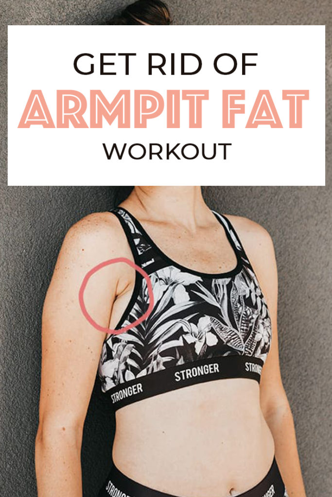 How to lose armpit fat really fast