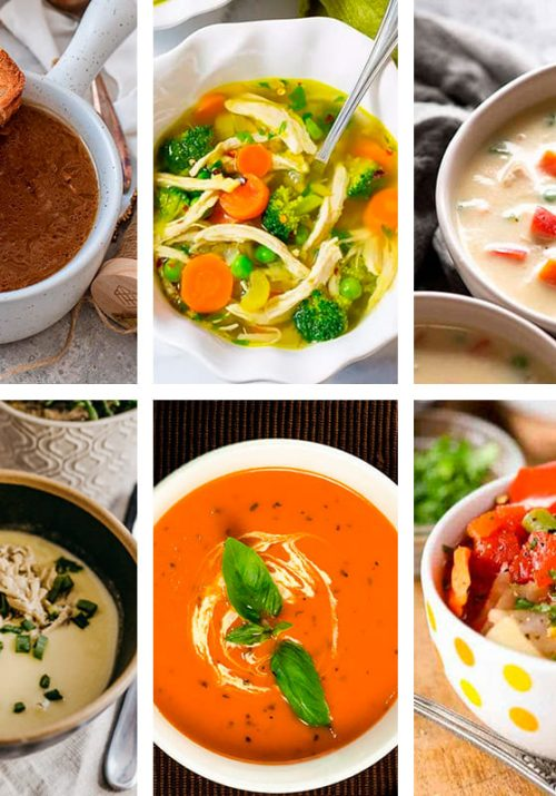Healthy weight loss soup recipes